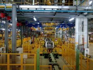 Body-work welding, 1,2 lines, Building 70, AvtoVAZ